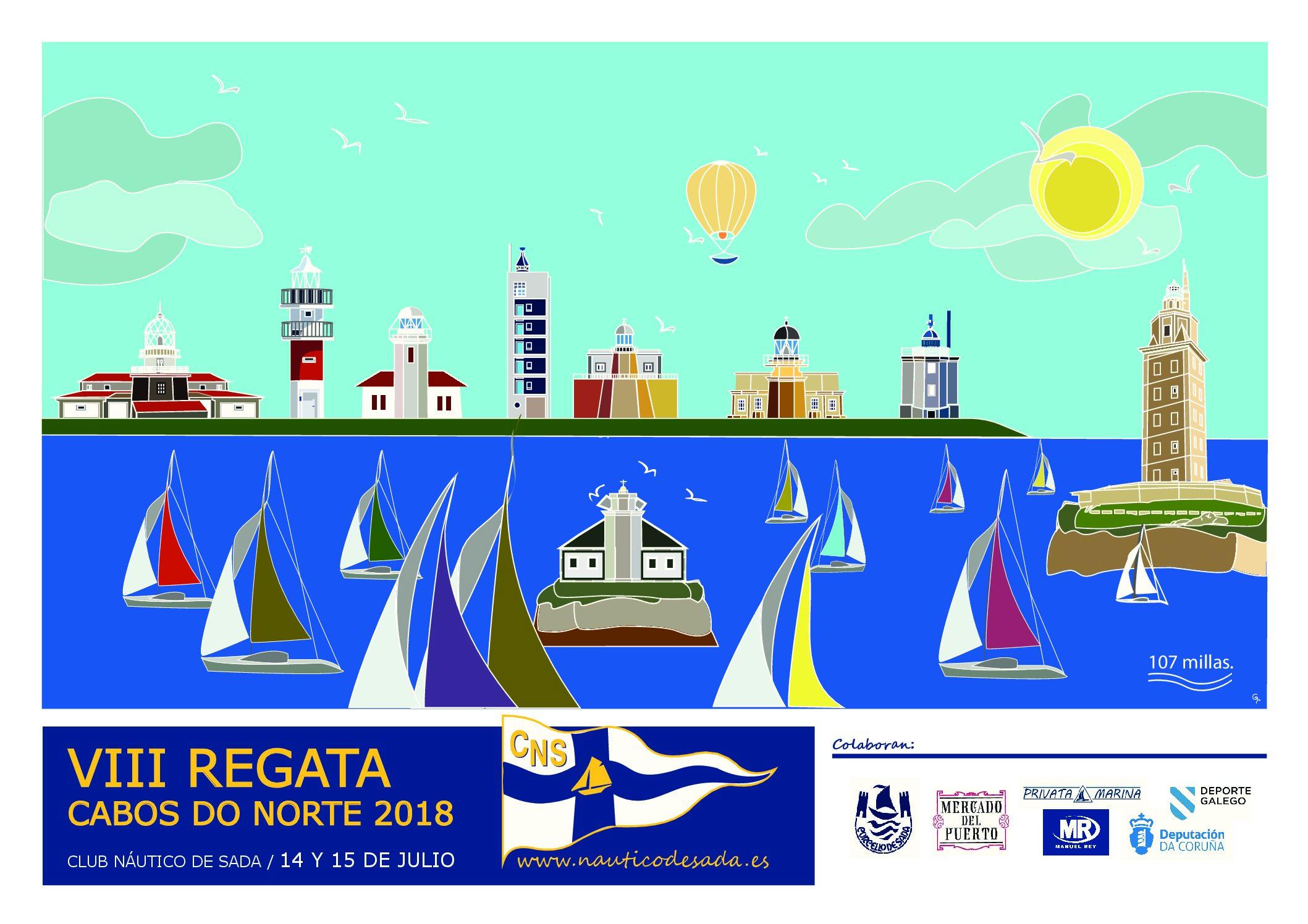 VIII EDICION REGATA CABOS DO NORTE 2018