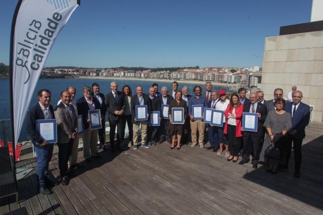 El Club Náutico de Sada recibe la distinción «Galicia Calidade»